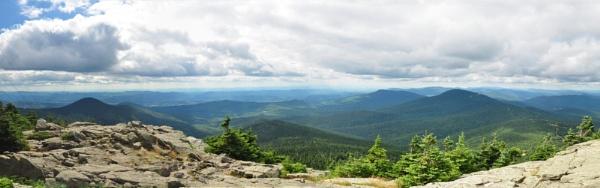 scenic mountaintop panorama by rochellek
