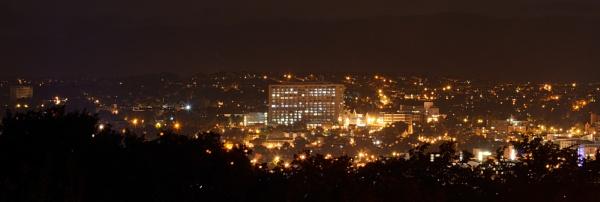 Sheffield at night by joshwa