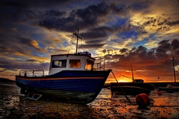 Rhos Harbour Sunrise
