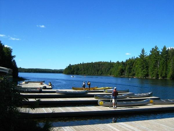 Canoe Lake - Algonquin Park, ON by Swarnadip