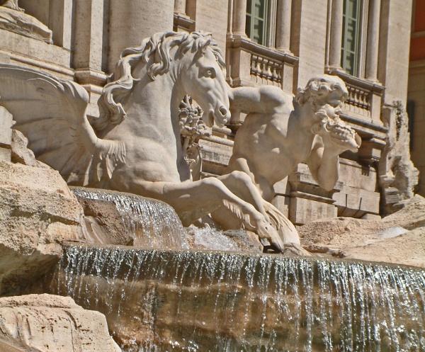 Fontana di Trevi by notsuigeneris
