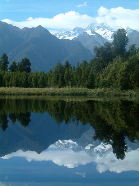 Mirror Lake, South Island, NZ by Rhianna