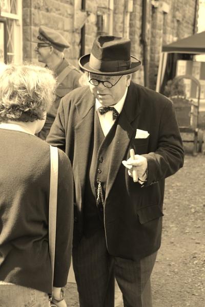 Winston Churchill. by Adrianwalker