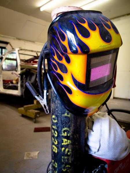 Welding Mask by davidburleson