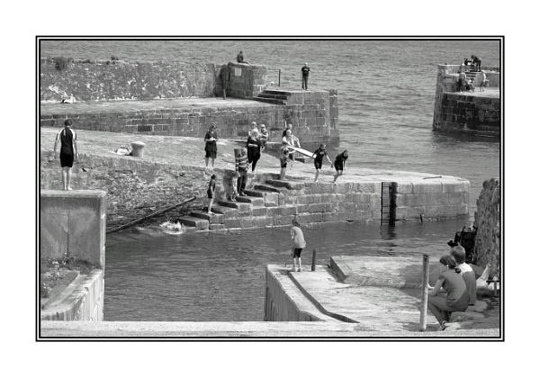 Charlestown Harbour, Cornwall by AEVANS10
