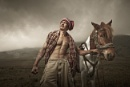 Mt Bromo Horse Rider by Rarindra