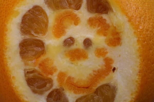Orange Smiley! by DixClix