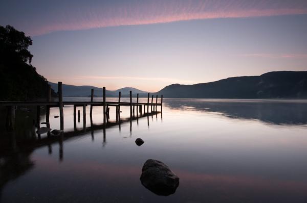 Derwentwater Dawn by geffers7
