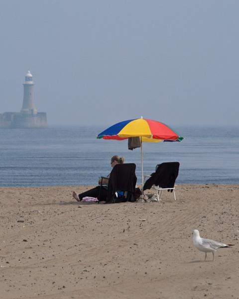 British Beach by Stickleman