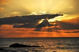 As the Sun Set!