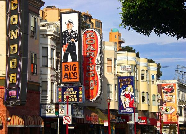 Colourful San Francisco street by notsuigeneris