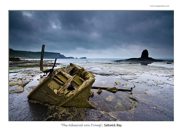 \'The Admiral von Tromp\', Saltwick Bay by dp