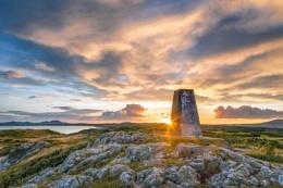 Sunset at Llyn Peninsula