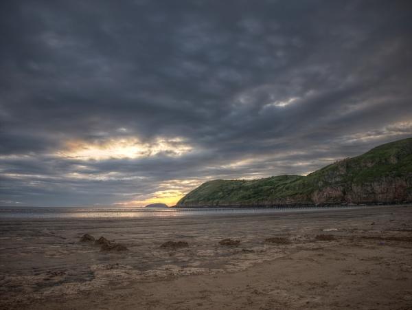 Brean beach by danieltrude