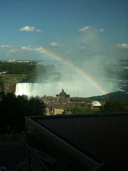 Niagara Rainbow by maryspics