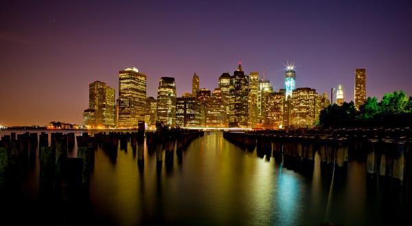 Down town Manhattan by lenslocker