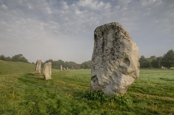 Avebury Stones by rogerbryan
