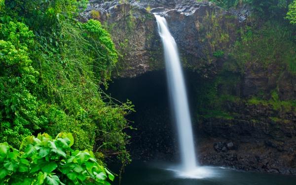 Rainbow Falls......Hawaii, The Big Island by PhotographyBySuzan
