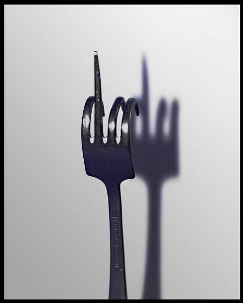 Fork\'n shadow. by 55jase