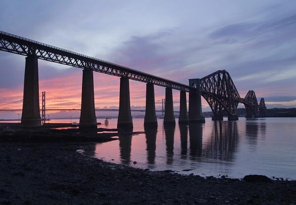 The Fourth Rail Bridge by TheFotoGraffer