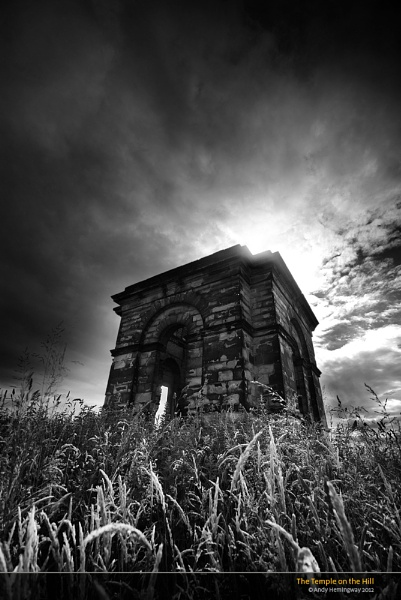 The Temple on the Hill by andy_AHG