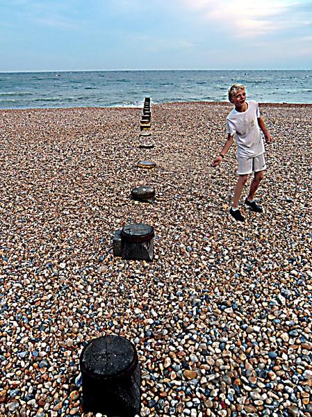 On the Beach by Gypsyman