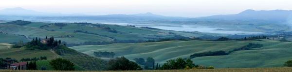 Tuscany mist by PeterWoodham