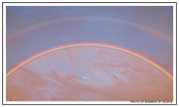 TWO RAINBOWS by kojack