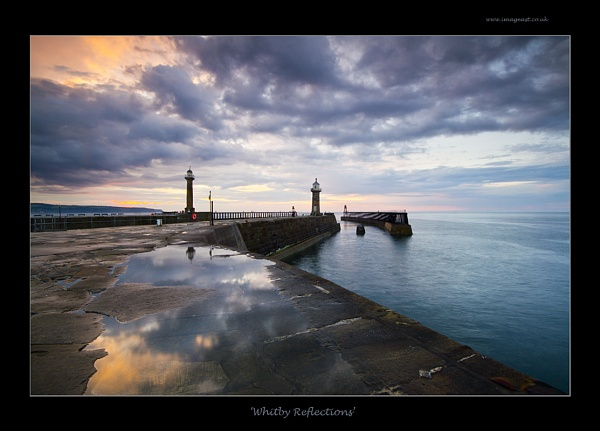 Whitby Reflections by dp