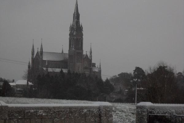 SNOW ON THE CATHETRAL by maryspics