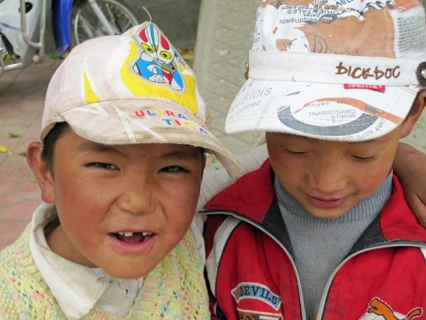 Tibetan boys, by buntytw26