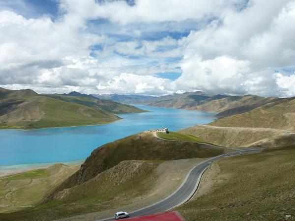 Turquoise Lake, Tibet by buntytw26