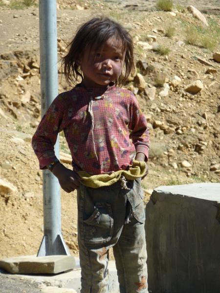 Tibetan girl on the plateau by buntytw26