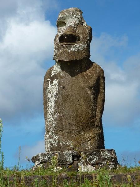 Moai Head, Easter Island by buntytw26