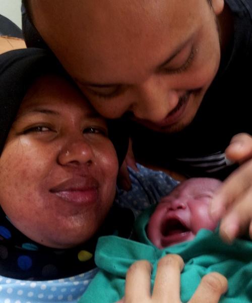 Sebuah keluarga kecil. by faizul_md