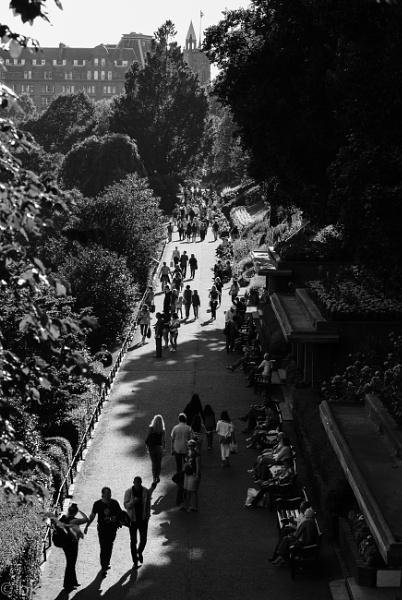 Princes St gardens / Edinburgh by B_Real