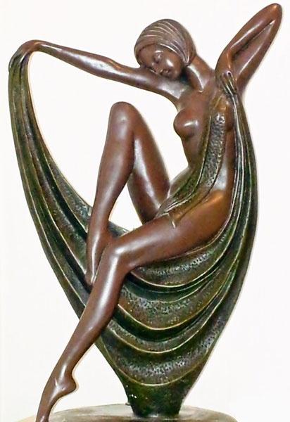 Bronze Figure by StephenDM