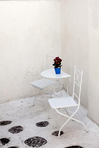 A quite corner, Mykonos by ensign