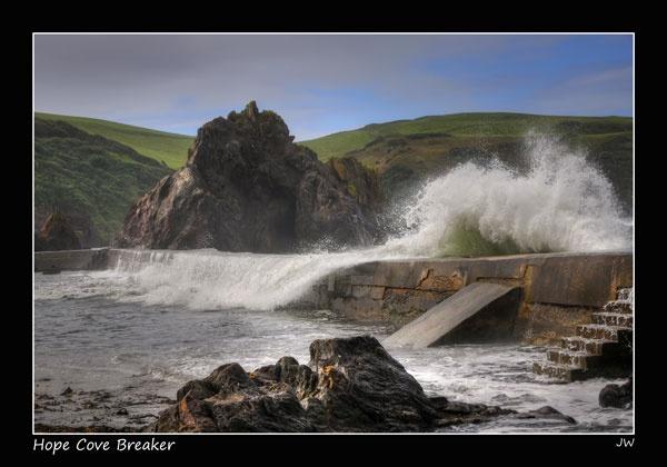 Hope Cove Breaker by jer