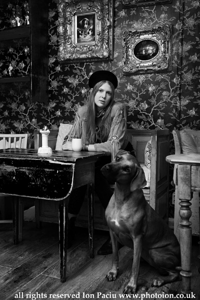Johanna and Schoki at Le Petite Cafe in Gothenburg, Sweden. by photoion
