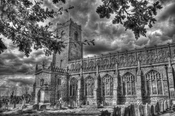 Blythburgh Church by PinkK