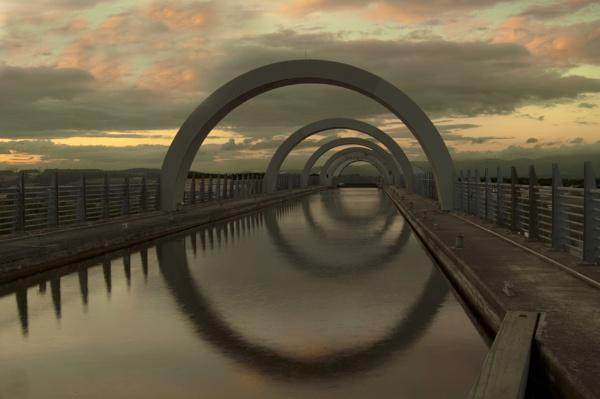 Falkirk Wheel by GAJ