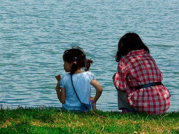 ice cream on the lake by marimea43