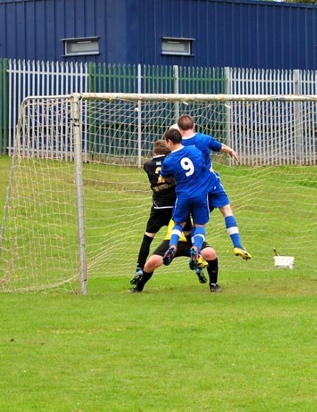 the brave goalie by allydon99