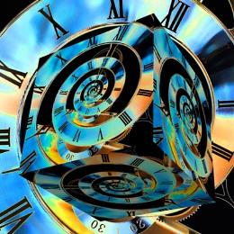 3D infinity clock