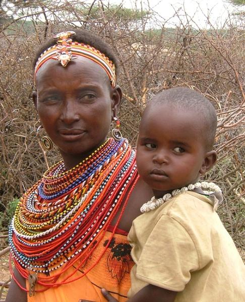 Maasai  Lady by JuBarney