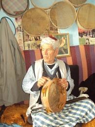 Tunisian handicrafs ( A musical instrument)