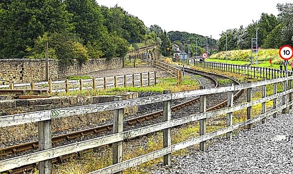 TRAIN LINE. by kojack