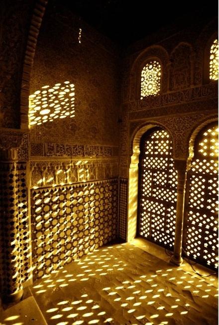Alhambra Interior at Dusk