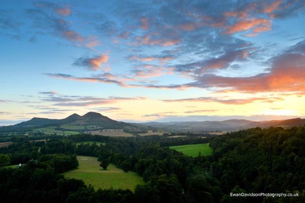Scotts View, Near Melrose by EwanDavidson